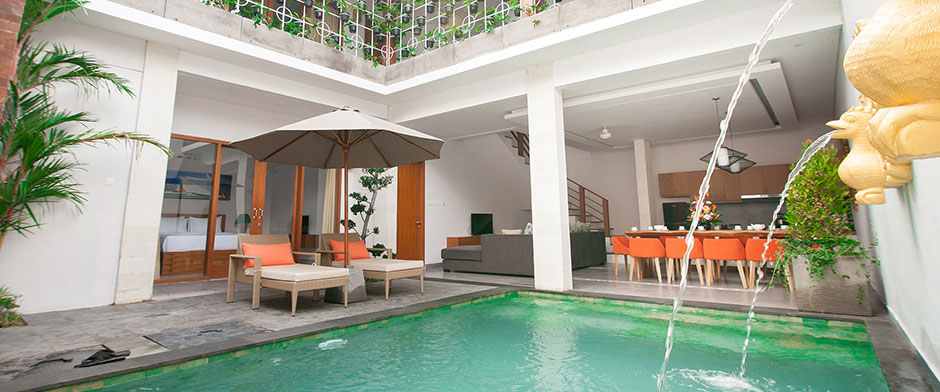 Apple Villa, Studio & Spa Seminyak - 5 Bedroom Villa