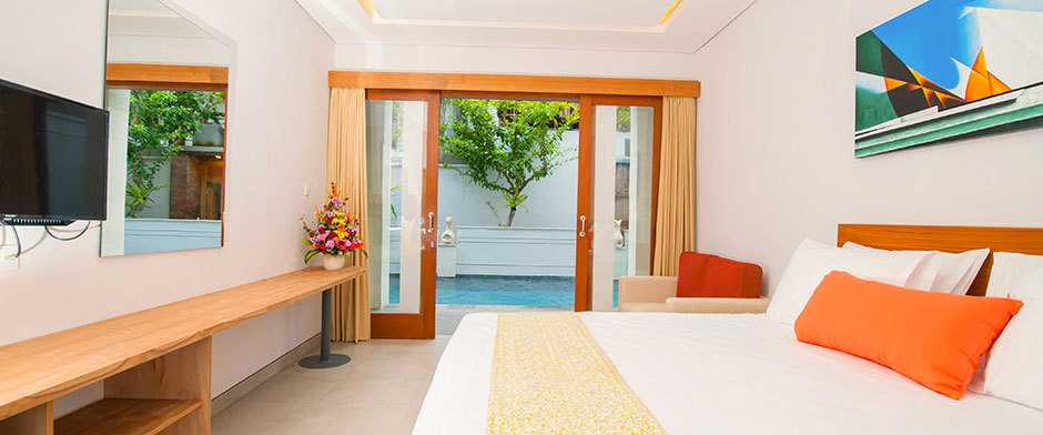 Apple Villa, Studio & Spa Seminyak - Studio Room