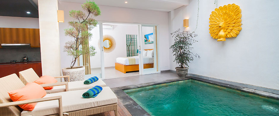 Apple Villa, Studio & Spa Seminyak - 3 Bedroom Villa